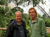 Mark and his Dad John at the Eden Project